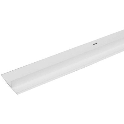 Raingo Vinyl Drip Edge Flashing, White