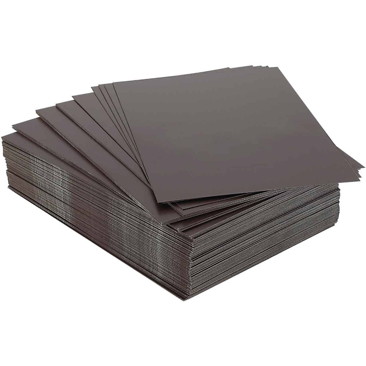 NorWesco 8 In. x 12 In. Brown Galvanized Step Flashing Shingle Image 1