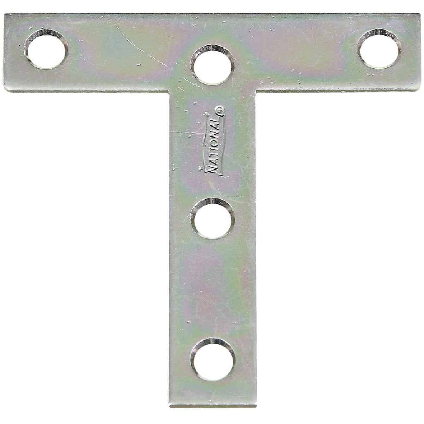 "National 3"" x 3"" Zinc T-Plate, (2-Pack) Image 1"