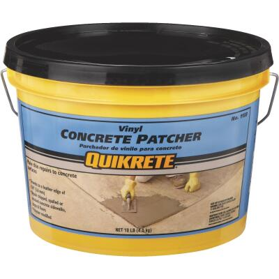 Quikrete 10 Lb Ready-to-Use, Gray Concrete Patch