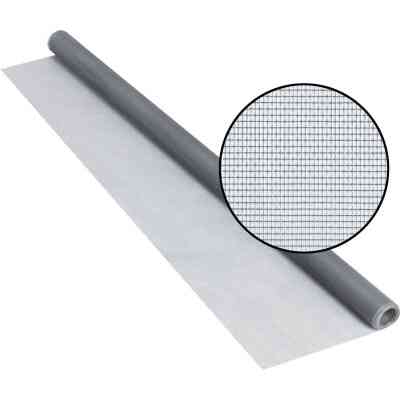 Phifer 36 In. x 84 In. Gray Fiberglass Screen Cloth Ready Rolls