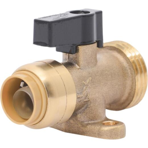 SharkBite 1/2 in. x 3/4 in. MHT Push-to-Connect Straight Washing Machine Valve
