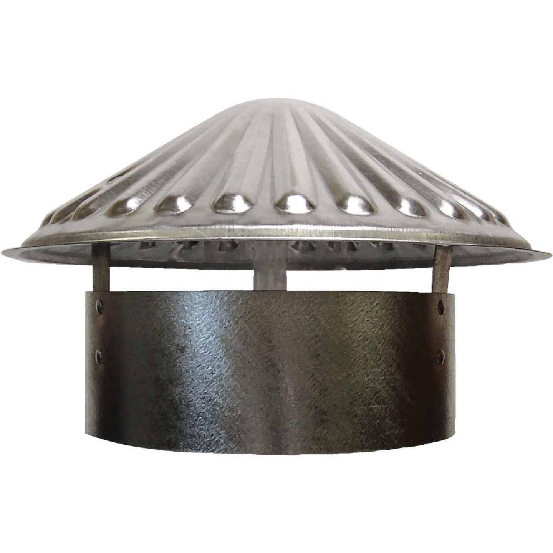 S & K Galvanized Steel 8 In. x 11 In. Vent Pipe Cap Image 1