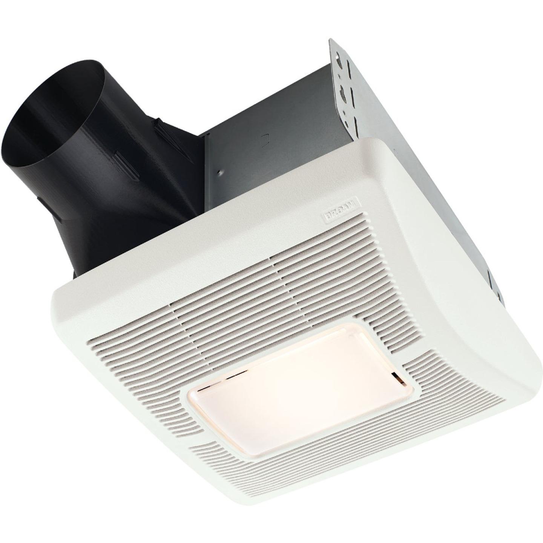 Broan 110 CFM 1.3 Sones 120V Bath Exhaust Fan with Light Image 1