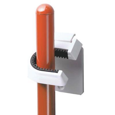 InterDesign Rubber Grip Broom Storage Hook